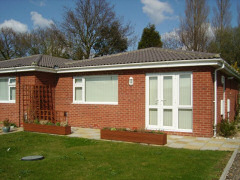 Self catering bungalow in holiday park
