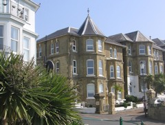 Self catering apartment with spectacular sea views, Alexandra House, Ventnor, Isle of Wight