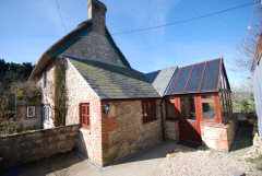 Self catering cottage on the edge of rural village