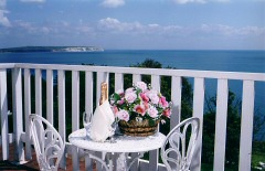 Luxury hotel with stunning sea views, Luccombe Hall Hotel, Shanklin, Isle of Wight