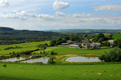 Nettlecombe Farm Holiday Cottages and Fishing Lake, Whitwell, Isle of Wight. Self catering cottages in a stunning rural location