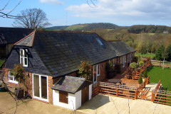 Self catering accommodation in a rural setting, Red Barn, Rookley, Isle of Wight
