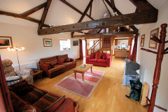 Red Barn, Rookley, Isle of Wight. Self catering accommodation in a rural setting
