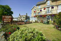 Guesthouse close to the top of the cliffs, St Leonards, Shanklin, Isle of Wight