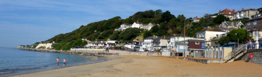 Panorama showing The Ventnor House, IOW